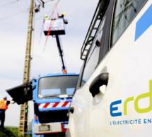 Vents violents : 33 000 foyers privés d'électricité ce matin en Normandie