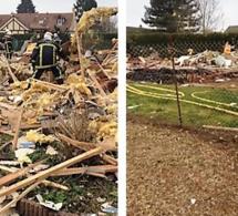 Eure : explosion d'une maison à Richeville, pas de blessé. 40 sapeurs-pompiers sur place