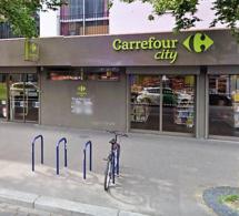 Hold-up dans un magasin Carrefour City à Rouen : le braqueur repart avec 300 €