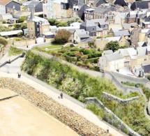 La Région verse 1,5 million d'euros au projet de consolidation de la falaise de Villerville (14)