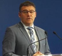 Le secrétaire d'État chargé de l'industrie en visite chez Ferrero à Villers-Ecalles, vendredi 27 janvier