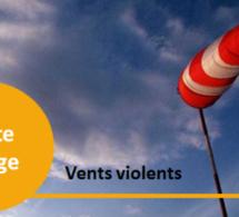 Météo : des vents violents pouvant atteindre 120 km/h annoncés ce dimanche en Seine-Maritime et l'Eure