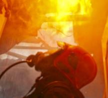 Épône : incendie ce matin dans un hôtel désaffecté. D'importants moyens de secours engagés