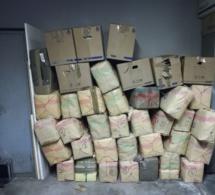 Les douaniers découvrent 1,2 tonne de cannabis dans un chargement de céréales, en Haute-Marne