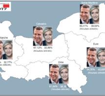 Election présidentielle : les résultats définitifs dans les cinq départements normands