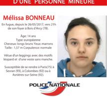 Yvelines : appel à témoin après la disparition d'une adolescente de 14 ans d'un foyer de Bois d'Arcy