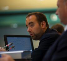Sébastien Lecornu, président (LR) du conseil départemental de l'Eure, nommé secrétaire d'État