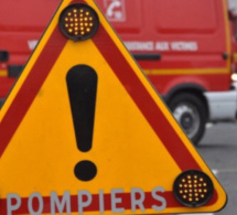 Accident de la route à Baons-le-Comte : un blessé incarcéré dans sa voiture