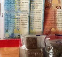 Gaillon : un demi-kilo de drogue et 1 400€ saisis lors d'une perquisition au domicile de deux frères