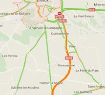 Travaux sur la RN 154 au sud d'Evreux : circulation basculée et bretelles fermées