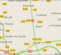 Carambolage sur une route du Pays de Caux ce matin : au moins trois blessés