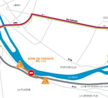 Nouveau viaduc de Guerville (Yvelines) : la D113 fermée à la circulation du 24 au 26 octobre