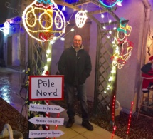 Illuminations de Noël : découvrez le jardin extraordinaire de Bernard à Pacy-sur-Eure