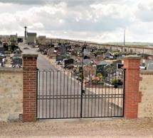 Eure : 45 tombes vandalisées dans le cimetière de Criquebeuf-sur-Seine