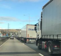 Neige et verglas : restrictions de circulation des poids-lourds sur plusieurs axes routiers dont l'A13