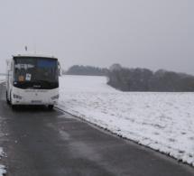 Neige et verglas : dans l'Eure, les transports scolaires interdits dans tout le département demain samedi