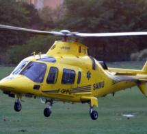 Duclair. Victime d'un malaise, une sexagénaire transportée d'urgence par l'hélicoptère du SAMU 76 vers un hôpital