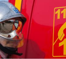 Seine-Maritime : une maison d'habitation est la proie des flammes à Barentin, un enfant incommodé