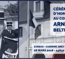 En Seine-Maritime et dans l'Eure, les gendarmes rendent hommage au lieutenant-colonel Arnaud Beltrame, victime du terroriste de l'Aude