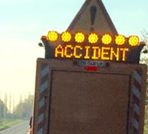 L'autoroute A13 coupée ce soir à Rougemontiers (Eure) à cause d'un accident de poids lourd
