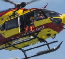 Un marin inconscient secouru par le SAMU maritime du Havre au large de Fécamp et héliporté par Dragon 76