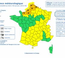 Après la Seine-Maritime et le Calvados, l'Eure placé à son tour en vigilance orange « pluie et inondation »