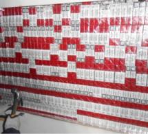 Contrebande : plus de 5 000 paquets de cigarettes et du tabac saisis sur l'A10, en région parisienne