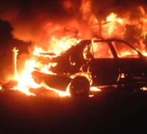 Eure : le véhicule découvert incendié à Douains avait été volé dans les Yvelines au cours de la nuit