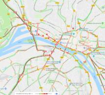 Manifestation des dockers et cheminots : circulation très difficile ce matin à Rouen