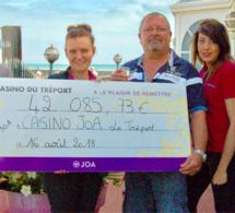 Jackpot : plus de 42 000 € remportés au Casino JOA du Tréport, en Seine-Maritime