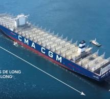 Le plus grand porte-conteneurs au monde inauguré au Havre jeudi 6 septembre
