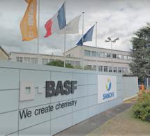 Seine-Maritime : fuite d'acide chlorhydrique dans l'usine Basf à Saint-Aubin-lès-Elbeuf, classée Seveso
