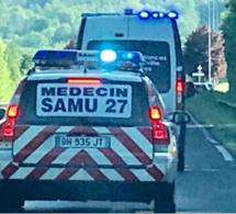 Louviers : une fillette hospitalisée en urgence absolue après une chute du 3e étage