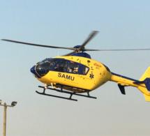 Seine-Maritime : deux véhicules se percutent près de Dieppe, un blessé grave héliporté à Rouen