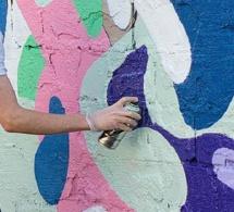 Le Havre : filmé par la vidéo-surveillance, la bombe de peinture en main dans un immeuble