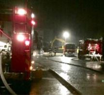 Violent incendie dans un immeuble à Barentin : neuf personnes intoxiquées par les fumées