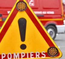 Un bus circulant à vide s'embrase sur la RN27 entre Dieppe et Rouen, le conducteur est blessé