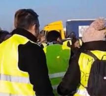 Gilets jaunes : nouvelle intervention policière ce soir au rond-point des Vaches, près de Rouen