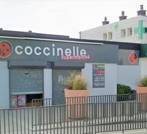 Fécamp : le braqueur du supermarché Coccinelle tire en l'air et repart sans la caisse