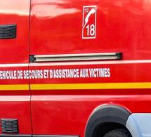 Feu d'atelier à Franqueville-Saint-Pierre : un homme brûlé aux mains et au visage
