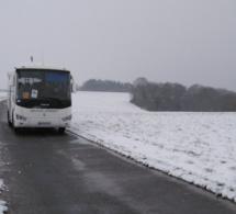 Neige et verglas : les transports scolaires interdits dans l'Eure jeudi 24 janvier