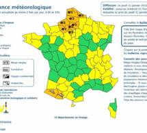 L'Eure et la Seine-Maritime de nouveau en vigilance orange «neige et verglas» ce jeudi