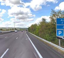 Un piéton tué ce matin en traversant l'autoroute A13 à hauteur d'Épône (Yvelines)