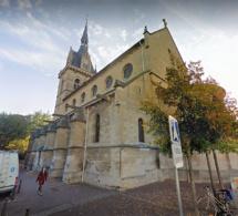 Yvelines : l'église Saint-Nicolas à Maisons-Laffitte victime d'un acte de vandalisme