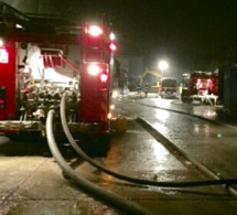Une trentaine de sapeurs-pompiers ont été mobilisés sur l'incendie une partie de la nuit  - Illustration © infonormandie