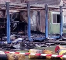 Eure : les locaux du stade de Vernonnet entièrement détruits par un incendie criminel
