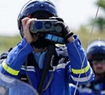 Eure : un motard contrôlé à plus de 100 km/h au-dessus de la vitesse autorisée