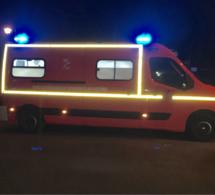 Seine-Maritime : un homme grièvement blessé, prisonnier de son véhicule à Darnétal