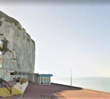 A Dieppe, chute mortelle de la falaise : la victime est une femme de 65 ans