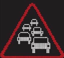 Accident grave ce soir sur l'A13 : 8,5 km de bouchon en direction de la Normandie